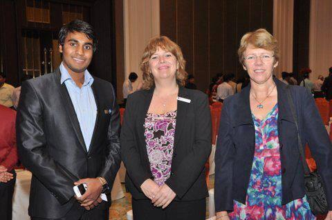 British Scholar at UK education event, British Council, Chennai